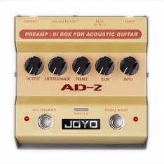 Педаль ефектів JOYO AD-2 Acoustic Guitar preamp and DI Box