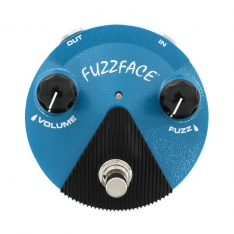 Педаль ефектів Dunlop Fuzz Face FFM1 Mini Silicon