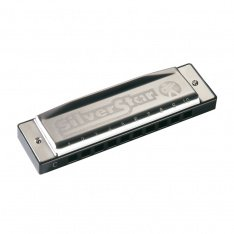 Губна гармошка Hohner M50411 B-major Silver Star