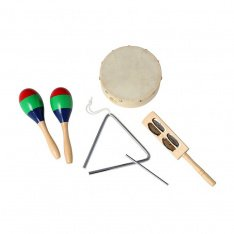 Дитячий перкусійний набір GEWA Kids Percussion Set 74439S3