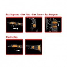 Демпфери для тенор-саксофона Gewa 723.006