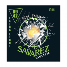 Струни для електрогітари Savarez X50XL Nickel Explosion Extra Light Tension