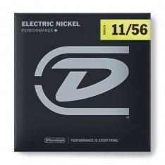 Струни для електрогітари Dunlop DEN1156 Nickel Plated Steel