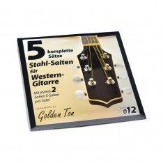 Струни для акустичної гітари Streetlife Bronze 012 - 049