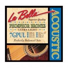 Струни для акустичної гітари La Bella 7GPT