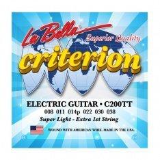 Струни для електрогітари La Bella C200TT Criterion