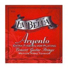 Струни для класичної гітари La Bella La Bella Argento SM
