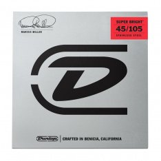 Струни для бас-гітари Dunlop DBMMS45105 Marcus Miller Super Bright