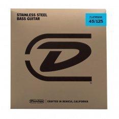 Струни для бас-гітари Dunlop DBFS45125 Flatwound Bass