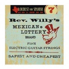 Струни для електрогітари Dunlop RWN0738 Rev. Willy