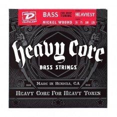 Струни для бас-гітари Dunlop DBHCN55120 Heavy Core Bass