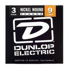 Струни для гітари Dunlop 3PDEN0942 Nickel Wound