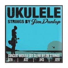 Струни для укулеле Dunlop DUY302 Concert