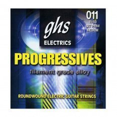 Струни для електрогітари GHS Progressives Medium PRM (.11 - .50)