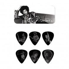 Набір медіаторів Dunlop JH-PT05H Jimi Hendrix Silver