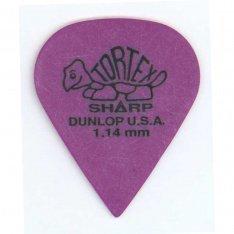 Набір медіаторів Dunlop 412P1.14 Tortex Sharp