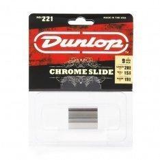 Стреплоки Dunlop 221 Chromed Steel Slides