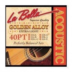 Струни для акустичної гітари La Bella 40PT