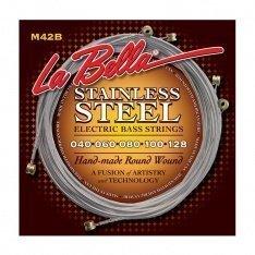 Струни для бас-гітари La Bella M42B