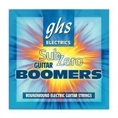 Струни GHS Sub-Zero Boomers Ultra Light CR-GBUL (.08 - .38))