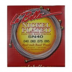 Струни для бас-гітари La Bella SN40