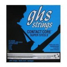 Струни GHS Contact Core Super Steel 5M-CC (45-129)