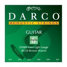Струни для акустичної гітари Martin D5000