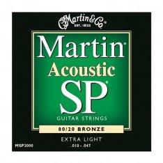 Струни для акустичної гітари Martin MSP3000