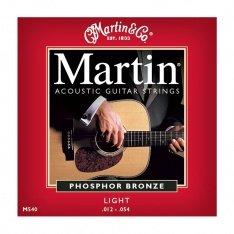 Струни для акустичної гітари Martin Phosphor Bronze M540