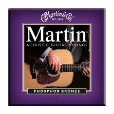 Струни для акустичної гітари Martin Phosphor Bronze M535