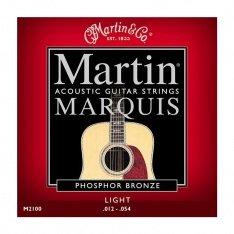 Струни для акустичної гітари Martin Marquis Phosphor Bronze M2100