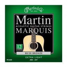 Струни для акустичної гітари Martin Marquis Bronze M1600