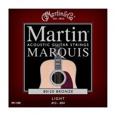 Струни для акустичної гітари Martin Marquis Bronze M1100