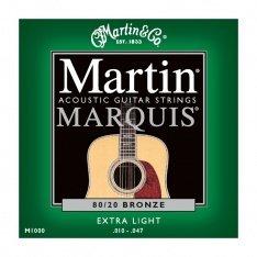 Струни для акустичної гітари Martin Marquis Bronze M1000