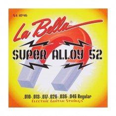 Струни для електрогітари La Bella SA1046 Super Alloy 52 – Regular 10-46