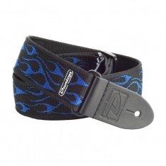 Ремінь Dunlop D38-11ВL FLAMBE BLUE