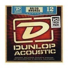 Струни для акустичної гітари Dunlop DAB1254 80/20 Bronze Light