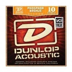 Струни для акустичної гітари Dunlop DAP1048 Phosphor Bronze Extra Light