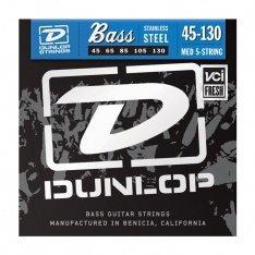Струни для бас-гітари Dunlop DBS45130 Stainless Steel Medium 5-130