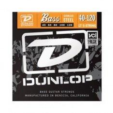Струни для бас-гітари Dunlop DBS40120 Stainless Steel Light 5