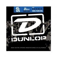 Струни для бас-гітари Dunlop DBN45130 Nickel Plated Steel Medium 5-130