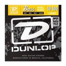 Струни для бас-гітари Dunlop DBN40100 Nickel Plated Steel Light