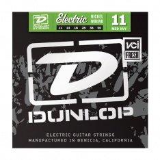 Струни для електрогітари Dunlop DEN1150 Nickel Plated Steel Medium/Heavy