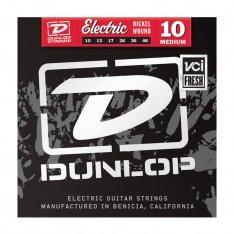Струни для електрогітари Dunlop DEN1046 Nickel Plated Steel Medium