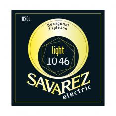 Струни для електрогітари Savarez H50L Hexagonal Explosion Light Tension