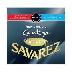 Струни для класичної гітари Savarez 510CRJP New Cristal Cantiga Mixed Tension