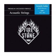 Струни для акустичної гітари Fire&Stone 80/20 Bronze Light