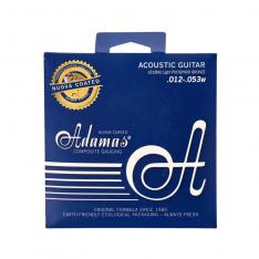 Струни для акустичної гітари Adamas Nuova Coated 1818NU Super-Light