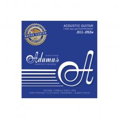 Струни для акустичної гітари Adamas Nuova Coated 1749NU Super-Light