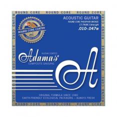 Струни для акустичної гітари Adamas Nuova Coated 1717NU Extra-Light